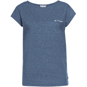 VAUDE Moja III - Camiseta manga corta Mujer - azul